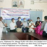 Financial Assistance provide among thalassaemia patients in Nilphamari